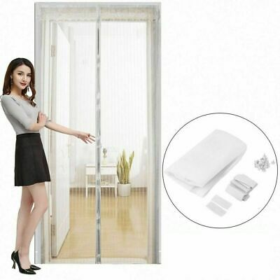 Anti Mosquito Net Insect Fly Bug Curtains Magnetic Mesh Door Automatic Curtain