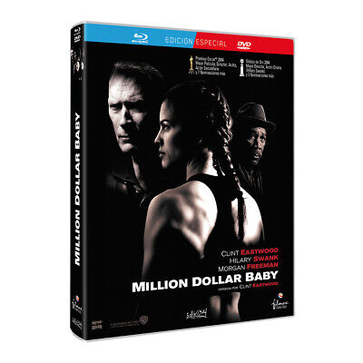Million Dollar Baby Combo Bluray+Dvd Nuevo Sin Abrir Clint Eastwood