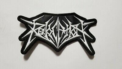 Revocation White Logo Embroidered  Patch