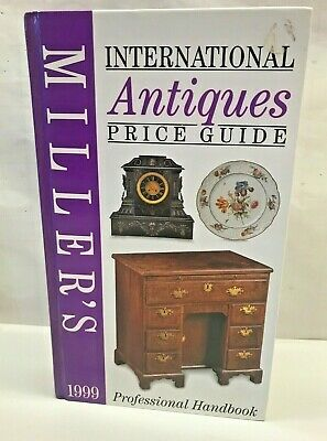 Miller's International ANTIQUE PRICE GUIDE Professional Handbook Book HC Photos