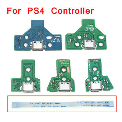 For PS4 USB Charging Port Socket Circuit Board JDS 011 030 040 055 001 Connector