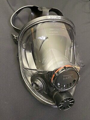 North by Honeywell 76008A Silicone Full Facepiece, Without Filters Size M/L