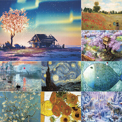1000 Piece Jigsaw Puzzle Landscapes Decompression Game Toy Difficulty 45X30 CM~