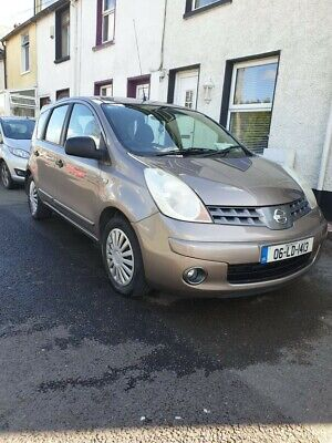 2006 Nissan Note 1.4 SE 5dr MPV Petrol Manual Only 80,870 Miles
