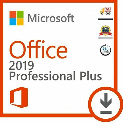 Microsoft Office 2019 Professional Plus | Product License Key Lifetime 32/64 Bit