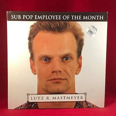 Varie Lutz R. Mastmeyer Sub Pop Dipendente di il Mese 1993 Red Vinile LP Excell