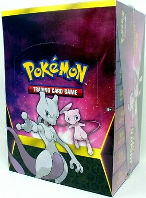 Pokemon Hidden Fates Pin Collection - Mewtwo/Mew Box Blowout Cards