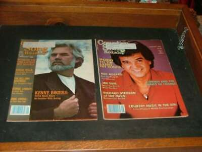 2 Country Song Roundup Magazines Jan. & Aug. 1982 Roger                  ID:4875