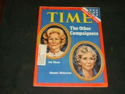 Time Oct 9 1972 Campaigners, Pat (My Husband's Not A Crook) Nixon        ID:6087