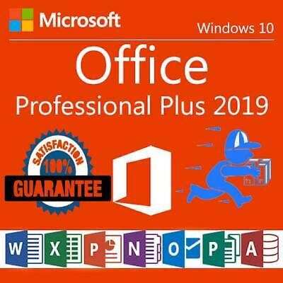 MICROSOFT OFFICE 2019 PROFESSIONAL PLUS ✅ 32/64bit License Key