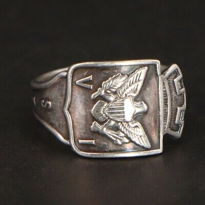 Sterling Silver - TH MARTHINSEN NORWAY St Thomas Spoon Handle Ring Size 7.5 - 4g
