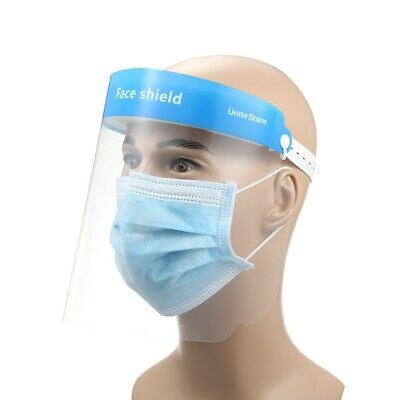 Full Anti-droplets Anti-fog Dust-proof Face Shield Protective Cover Protector