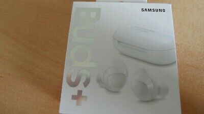 Samsung Galaxy Buds+ plus in White. Wireless Earbuds NEW SEALED