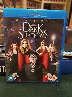 Dark Shadows (Blu-ray, 2012)