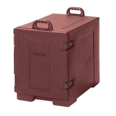 Cateraide End Loading Insulated Pan Carrier in Brick Red