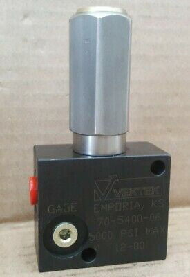 Vektek 1500-5000 PSI Pressure Limiting Valve  70-5400-06