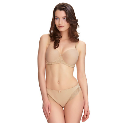 Fantasie Rebecca Lace Spacer Full Cup Side Support Bra 9421 Sand Size 32D   (t)