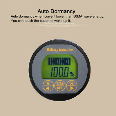 TR16 Voltmeter Battery Indicator ABS Monitor Multifunction Current Car Tester