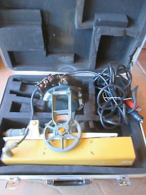 K&E Paragon Jig Transit Level Scope With Case, Control, Power Cable