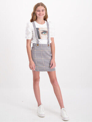 NEW MISS MANGO Mm Plaid Pinafore by Best&Less