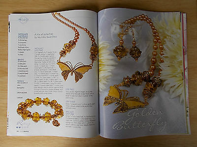Creative Beading Vol 8 #3~53 Projects~Jewellery~Hair Clip~Crystal Dolly~Bag...