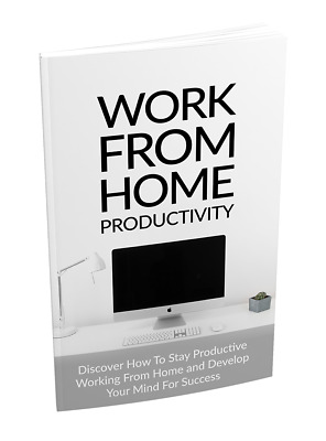 How To Stay Productive Working From Home- eBook and Bonuses on CD