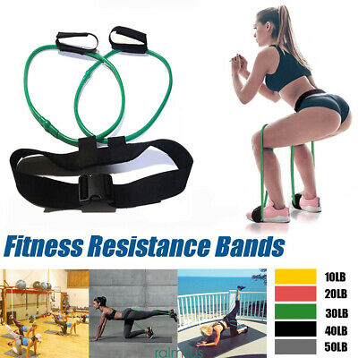 Resistance Bands Workout Exercise Yoga Body Set Crossfit Fitness Training Tubes