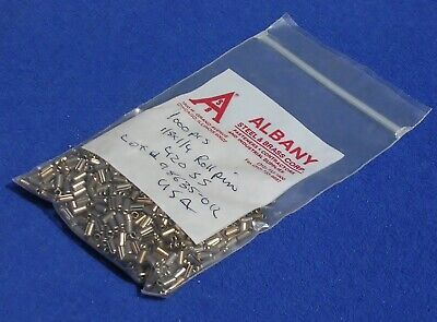 """Stainless Steel 420 Roll Pins 1/8"""" OD x 1/4"""" Long MINT USA"""
