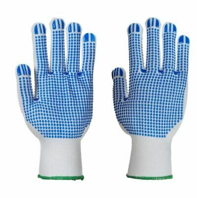 Portwest DUAL Polka Dot Plus Gloves A113-Double Sided Grip Reusable Workwear PPE