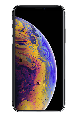 Apple iPhone XS 256GB Silver A1920 Unlocked - Fair Condition