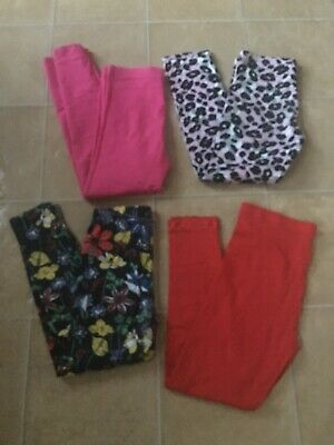 Girls Bundle Of Clothes Leggings Age 11-12 Years X4