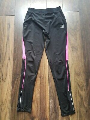 KARRIMOR Girls Black Sports Running Leggings  Age 13 Years
