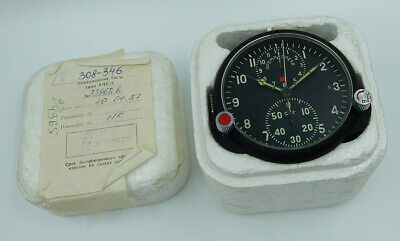 NEW! AChS-1 Russian Soviet USSR Military AirForce Aircraft Cockpit Clock #08717