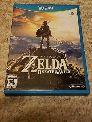 The Legend of Zelda: Breath of the Wild (Wii U) (Complete & Tested)