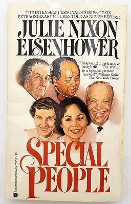 Julie Nixon Eisenhower SIGNED Book