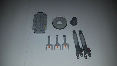 LEGO TECHNIC 4 pcs LARGE LINEAR ACTUATOR Cylinder Piston power functions grey