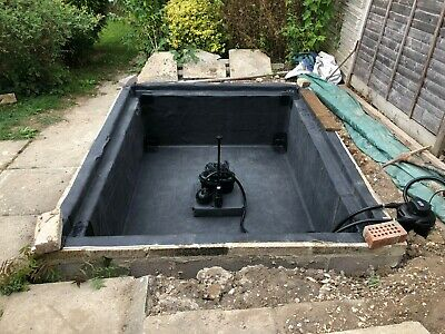 Firestone 1mm EPDM Heavy duty Rubber Pond Liner (various sizes)