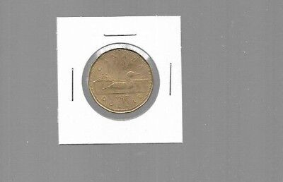 AK040:Canada Coin - 1987 First Year of the Loonie Dollar