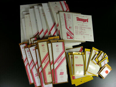 55 PACKS of SHOWGARD Stamp Mounts with Clear Backs G944