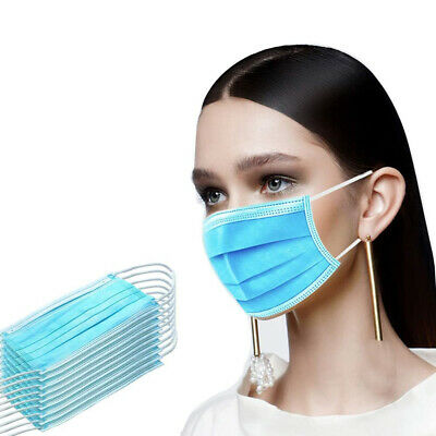 50 PCS Disposable Face Mask Medical Surgical Dental (50 Pack) - SHIPS SAME DAY!