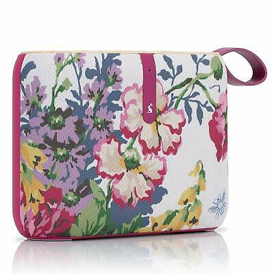 Bluetooth Portable Speaker - Light Weight - Joules Albany Cambridge Floral Cream
