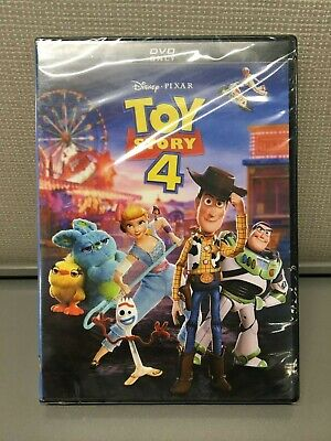 Toy Story 4 - Brand New DVD 2019 - Sealed Hard Case