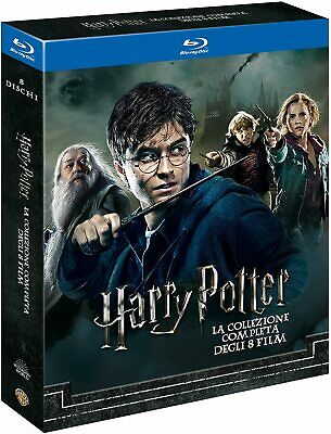 Cofanetto Bluray Harry Potter La Collezione Completa 8 Film Italiano New