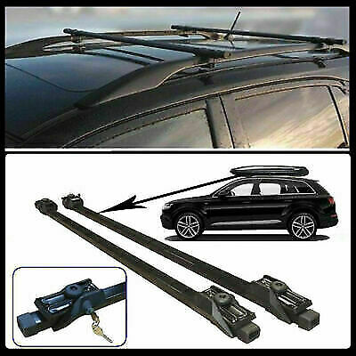 PEUGEOT 206 98-09 Heavy Duty Anti-Theft Steel Roof Rack Cross Rail Bars