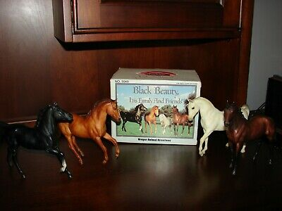 Breyer Horse Black Beauty and His Friends and Family Set in Original Box No 3040