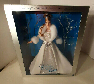 NRFB WINTER FANTASY BARBIE DOLL in Box 2003 Special Edition HOLIDAY VISIONS New