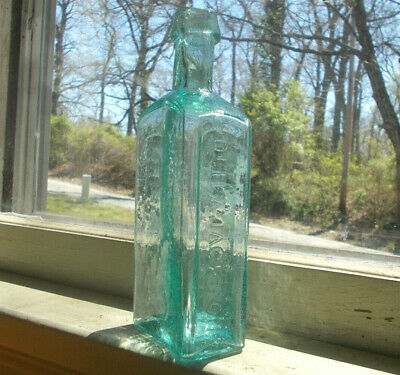 Open Pontil Dr.h.a.jackson's Bitters Very Rare 1850 Drippy Lip Crude Bottle
