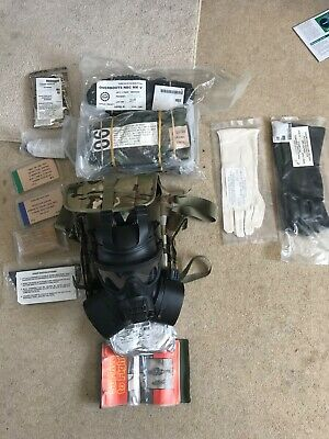 GSR respirator face sheild full protection suit job lot military grade