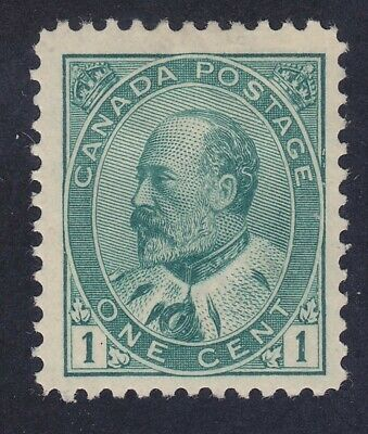 Canada 89 Mint OG 1903 1c Green KE VII Issue