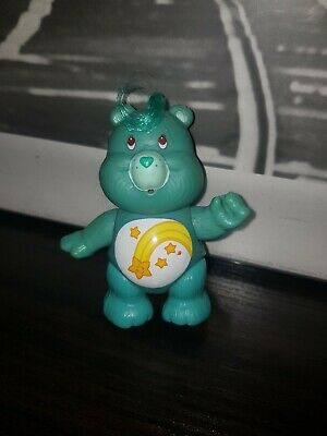 Vintage 1980's Care Bears Poseable Figures ~ WISH BEAR